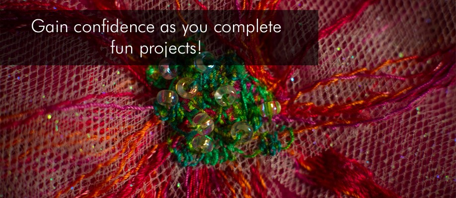 Gain confidence as you complete fun projects